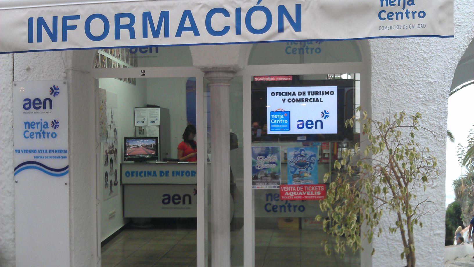 foto oficina comercial y turistica - aen - nerja centro