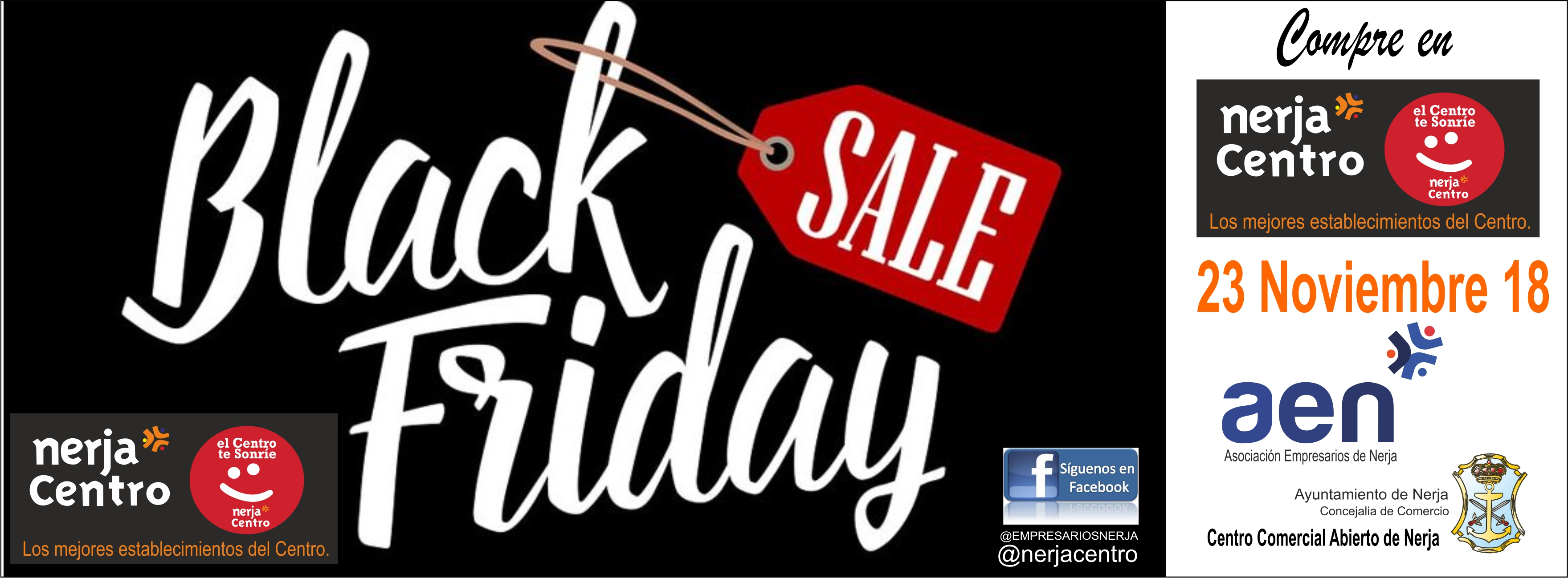 BLACK FRIDAY 18 NERJA